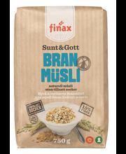 Finax Sunt&Gott Branmüsli naturell müsli 750g