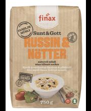 Finax Sunt & Gott - Russin & Nötter naturell müsli 750 g