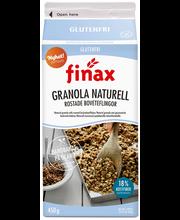 Finax Gluteeniton Muromysli 450 g Naturell ja paahdetut Tattarihiutaleet