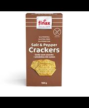 Finax Gluteenittomat Suola & Pippurikeksit 100g