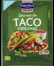 Santa Maria 28g Tex Mex Taco Spice Mix Organic -mausteseos