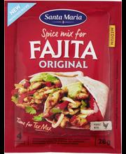 Santa Maria 28g Tex Mex Fajita Spice Mix Original -mausteseos