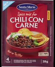 Santa Maria 28g Tex Mex Chili Con Carne Spice Mix mausteseos