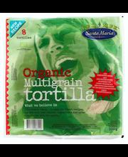 Santa Maria 320g Tex Mex Organic Multigrain Tortilla moniviljatortilla luomu 8 kpl
