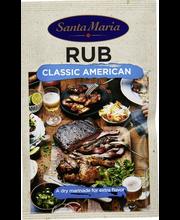 Santa Maria 22g BBQ Rub Classic American kuiva marinadi