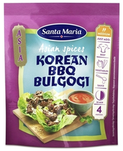 Santa Maria 35g Asian Spices Korean BBQ -mausteseos