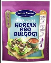 Santa Maria 35g Asian Spices Korean BBQ -mausteseos