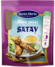 Santa Maria 35g Asian Spices Satay -mausteseos