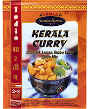 Santa Maria 40g Kerala Curry Coconut, Lemon, Yellow Curry Spice Mix mausteseos