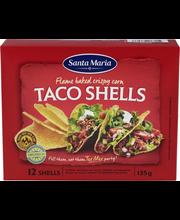 Santa Maria Tex Mex 135g Taco Shells -maissikuoret