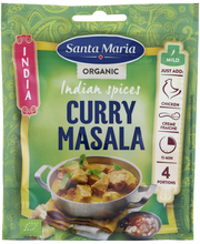 Sm curry masala organic 30g