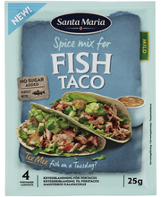SM Fish Taco Spicemix 25G
