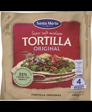SM Tortilla Org 4p 160G