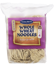 Sm whole wheat noodles for wok 200g