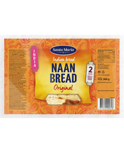 Sm naan bread original 260g