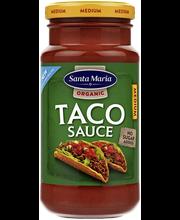 Santa Maria 230g Taco Sauce medium luomu