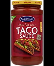 Sm taco sauce medium 320g