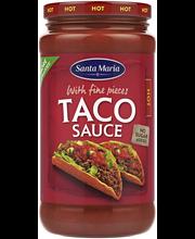 Sm taco sauce hot 320g