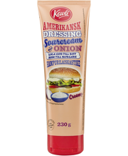 Kavli 230g hampurilaiskastike Sourcream & Onion