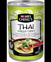 Mrs Cheng's Thai Green Curry Valmis ateriakastike 400ml