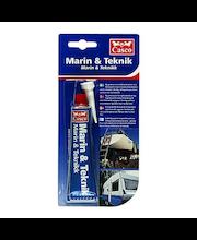 Casco Marin&Teknik saumamassa/-liima 40 ml musta