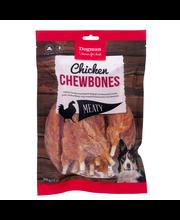 Dogman Meaty 240g 12kpl Chicken Chewbone koiraherkku