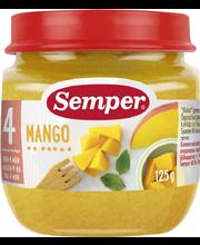 Semper 125g Mangoa alkaen 4 kk hedelmäsose