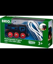 BRIO Ladattava veturi mini USB ‑johdolla