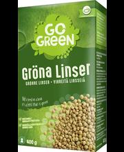 Vihreät linssit 400 g