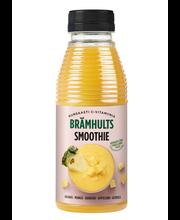 Brämhults 0,38L ananas-mango täysmehu smoothie