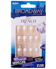 BW Fast French Nail Kit kynsisetti - Pink