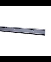 Elfa classic/decór turvakantokisko platina, 1350 mm