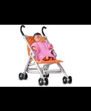 Lundby sateenvarjoratas ja vauva