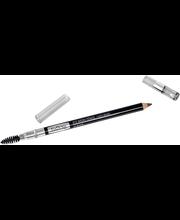 IsaDora 1,1g Perfect Eyebrow Pencil with Brush 20 Black kaksipäinen kulmakynä
