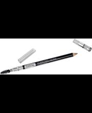IsaDora 1,1g Perfect Eyebrow Pencil with Brush 25 Warm Brown kaksipäinen kulmakynä