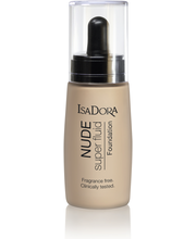 IsaDora 30ml Nude Sensation Fluid Foundation 10 Nude Porcelain meikkivoide