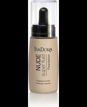 IsaDora 30ml Nude Sensation Fluid Foundation 14 Nude Vanilla meikkivoide