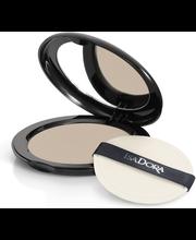 IsaDora 10g Velvet Touch Compact Powder 13 Soft Nougat Mist kivipuuteri