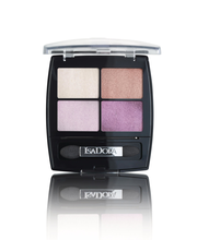 IsaDora 5g Eye Shadow Quartet 27 Amethyst Crystal luomiväri