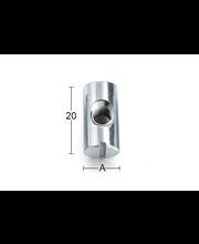 Tappimutteri m6-20 20x10 m6