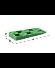 Asennuskiila 8030 10mm vihreÄ