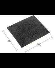 Liukueste 4031 100x85  kumi musta