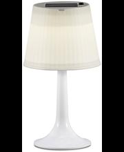 Konstsmide Assisi LED pöytävalaisin solar, valkoinen