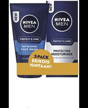 NIVEA MEN Originals 2pack kasvovoide 75ml + puhdistusgeeli 100ml