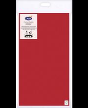 Duni Dunisilk+ 138x220cm punainen pöytäliina