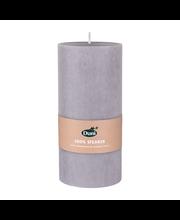 Duni 15x7cm 45h 100% steariinia harmaa pöytäkynttilä