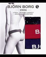 Björn Borg naisten string alushousut 3 kpl Stardust 1941-1051
