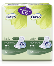 Tena Lady Normal Inkontinenssiside 12 kpl