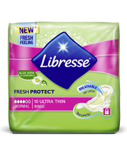 Libresse Ultra Normal Aloe Vera wing 10 kpl