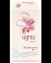 Lights by Tena Light Liner Inkontinenssi Pikkuhousunsuoja 28 kpl